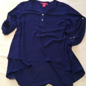Stunning royal blue blouse